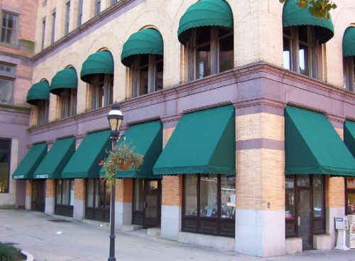 Commercial Awnings Powerwashed
