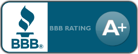 Better Business Bureau A+ rating for pressure washing
