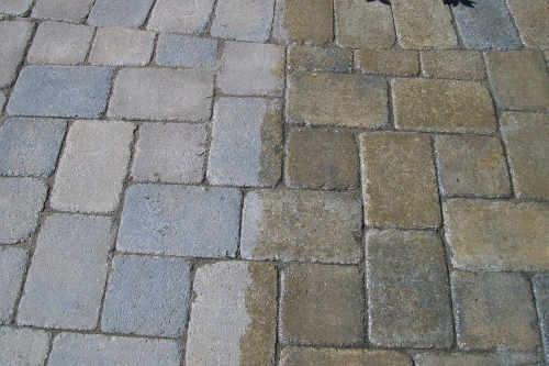 Paver Powerwashing Sealing Richmond VA