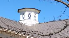 Cupola and Roof Power washing at Lewis Ginter Botanical Gardens in Richmond VA 3