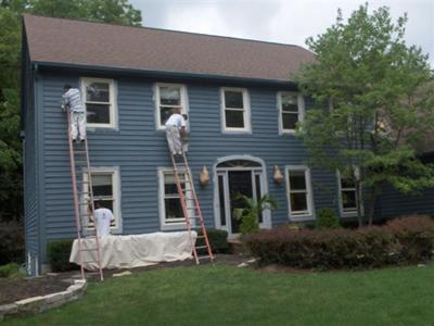 Exterior House Painting Power Wash This